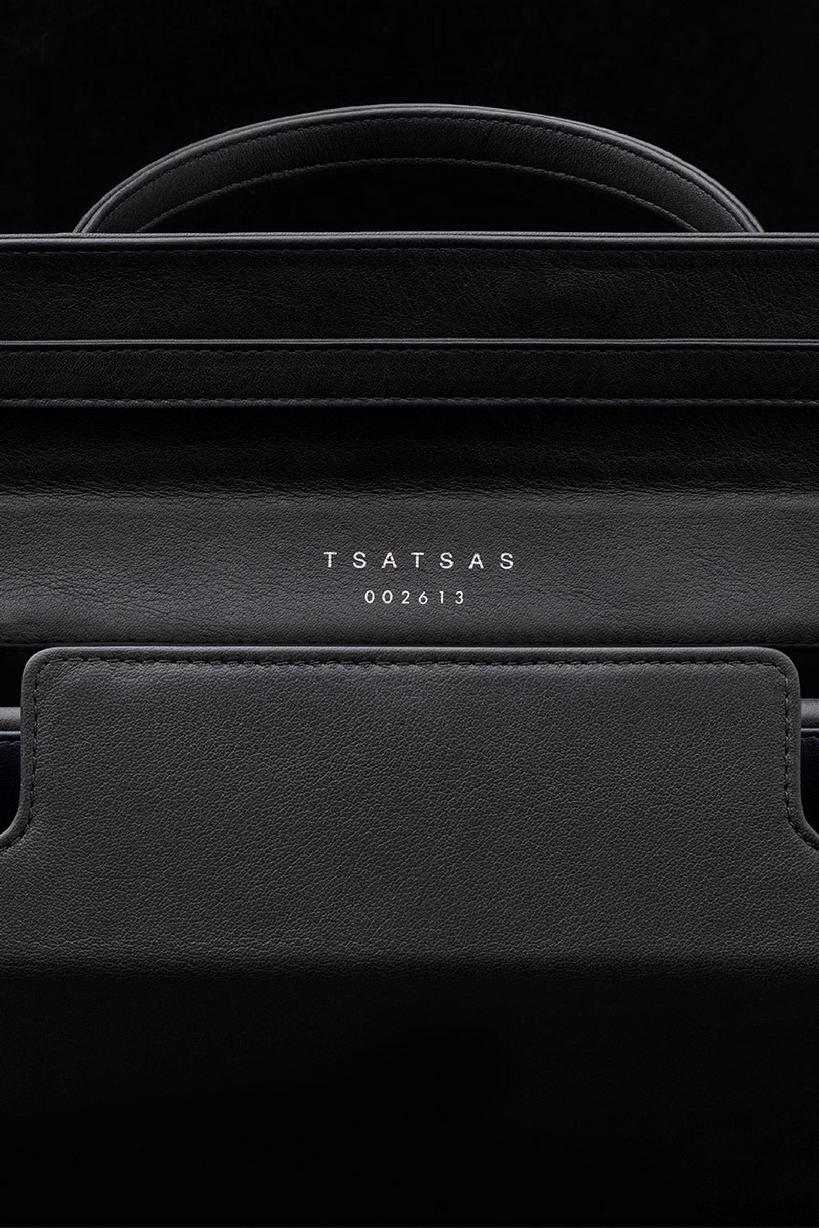 dieter rams latest project leather handbag tsatsas