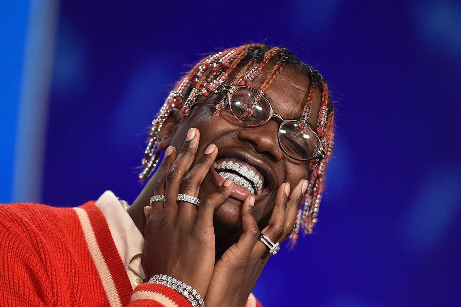 Lil Yachty smiling