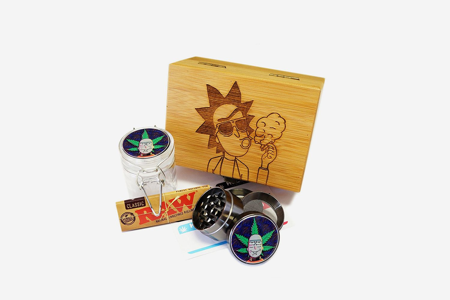 Rick Smoking Box
