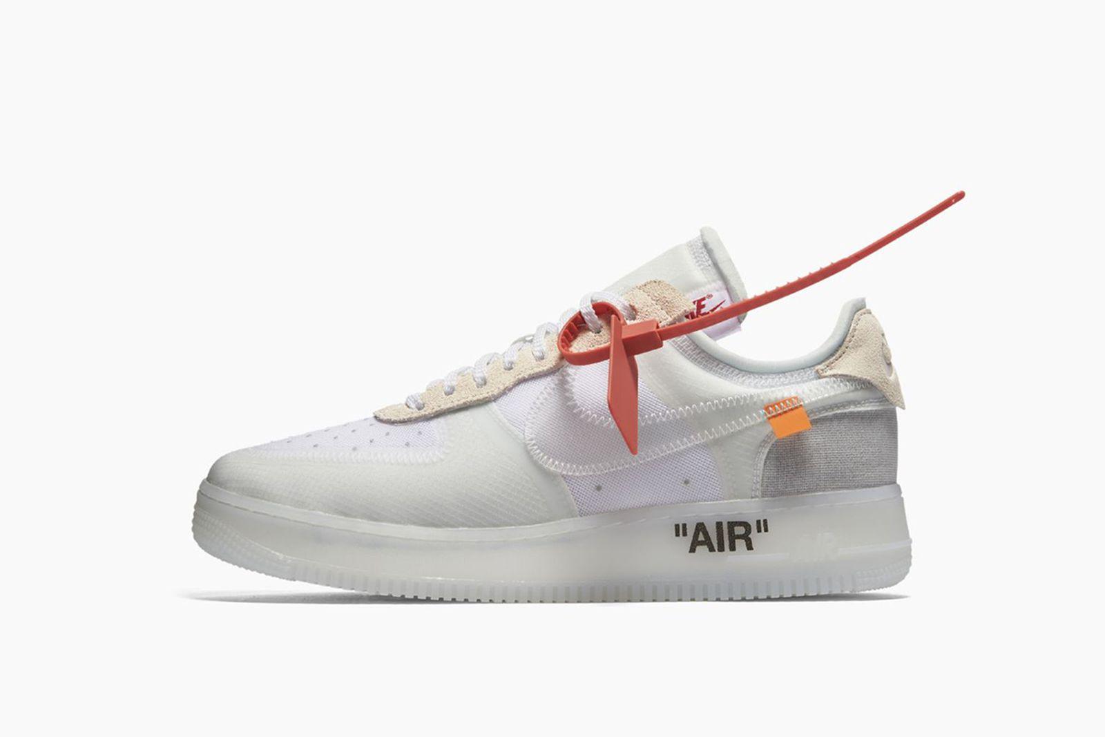 air force 1 GOAT Nike The Ten OFF-WHITE c/o Virgil Abloh