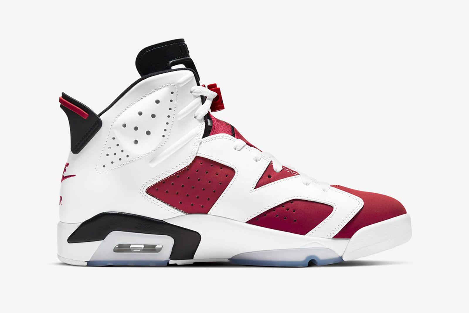 "Nike Air Jordan 6 ""Carmine"": Official Release Info & Images"