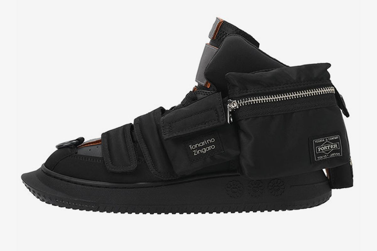 Takashi Murakami's Insane PORTER High-Top Returns in All Black 1