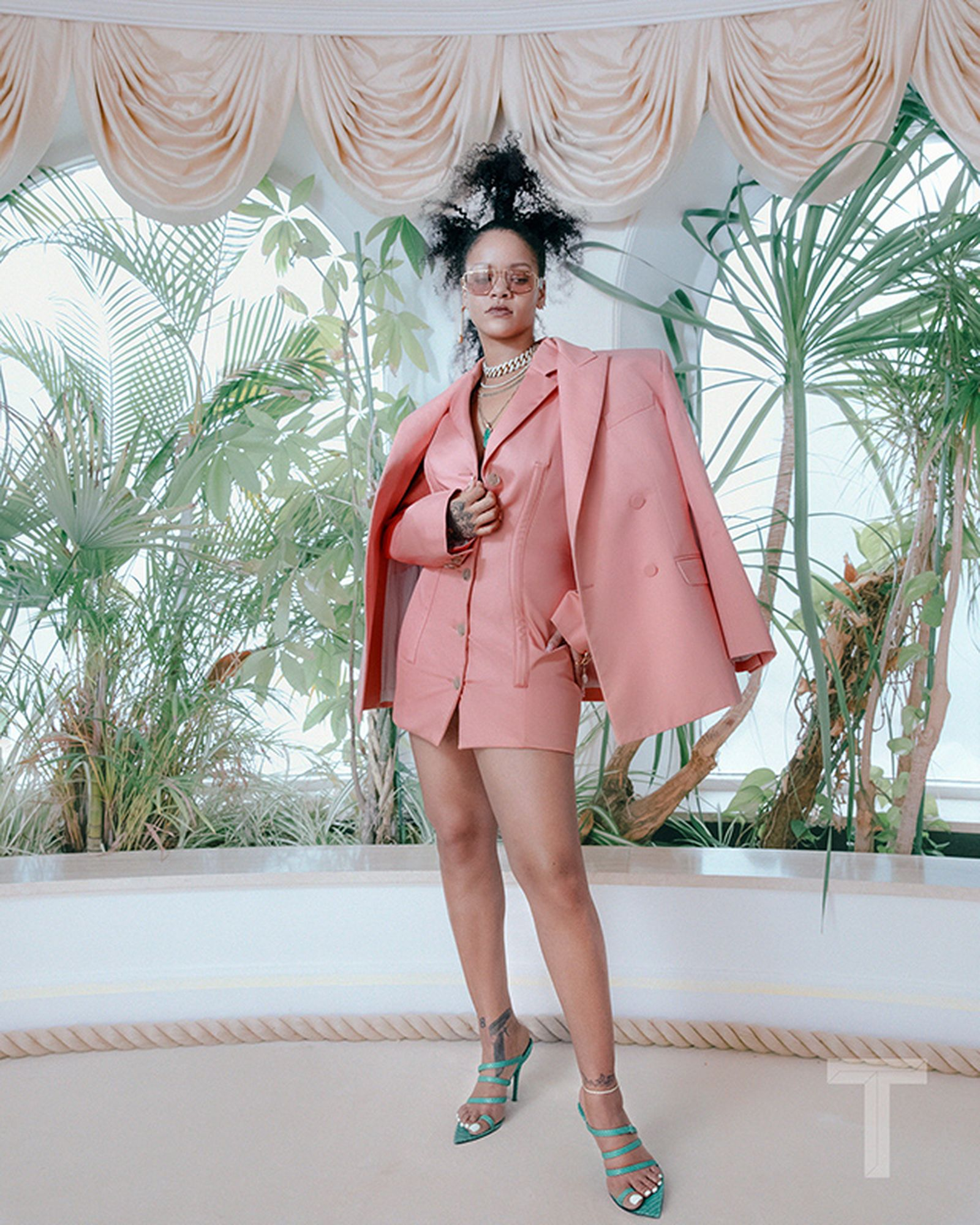 rihanna ny times interview fenty