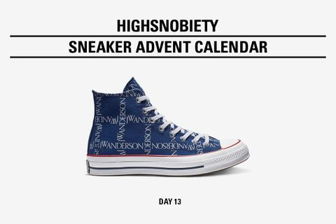 highsnobiety advent calendar day thirteen Converse Chuck 70 jw anderson