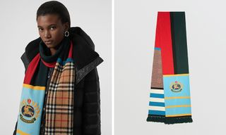 Burberry Drops Dope New Multi-Patterned Scarf