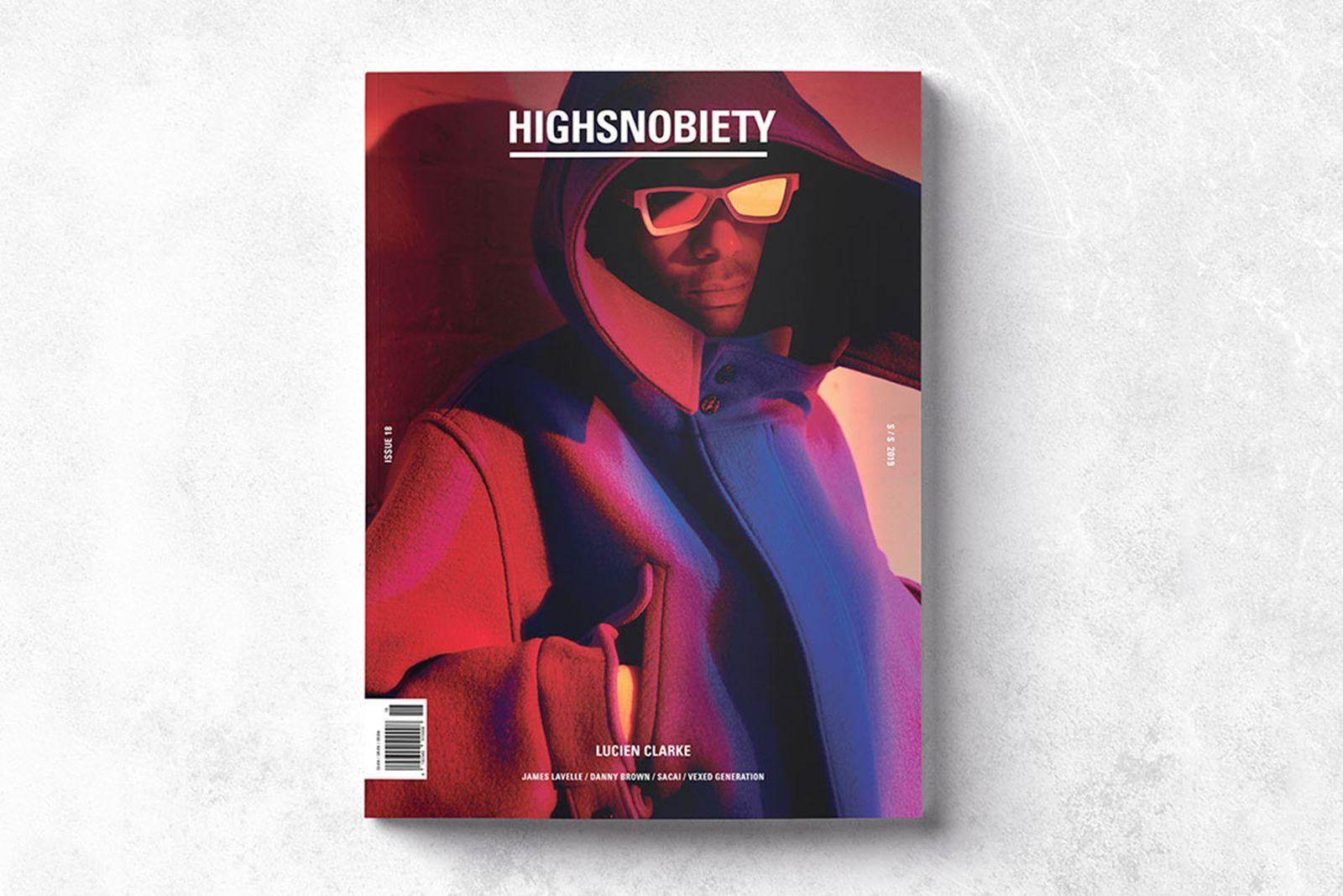 highsnobiety magazine issue 17 lucien clarke Highsnobiety Magazine Issue 18 chitose abe sacai