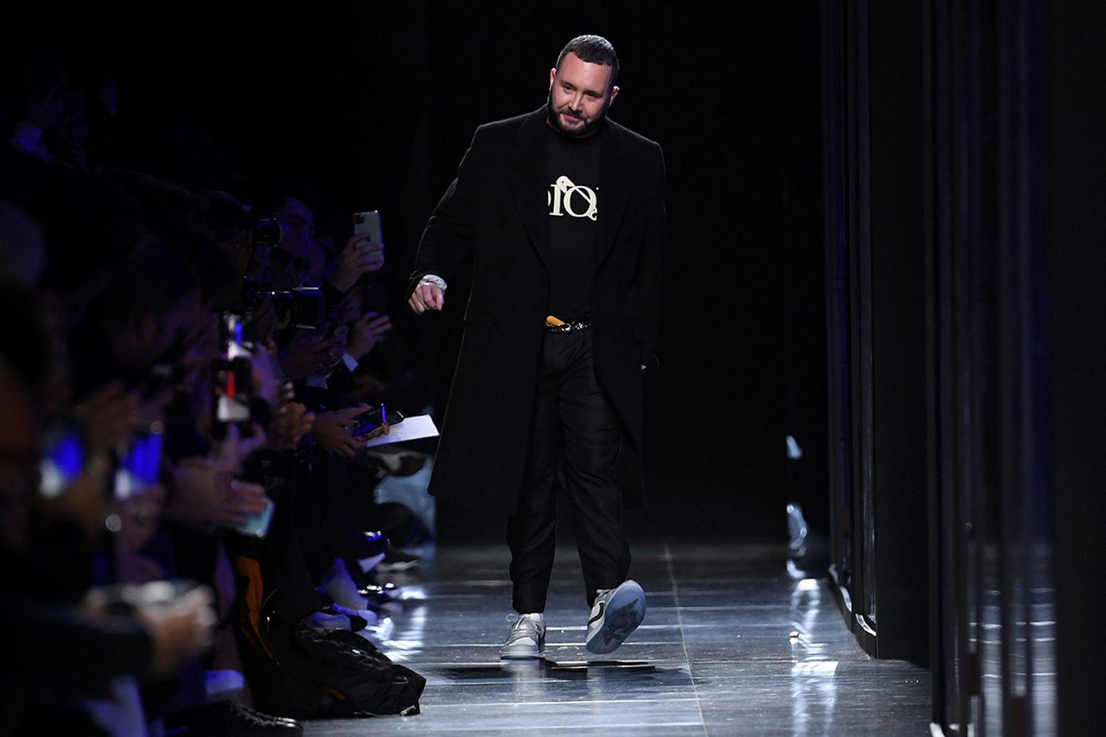 Kim Jones Dior runway show Paris Fashion Week