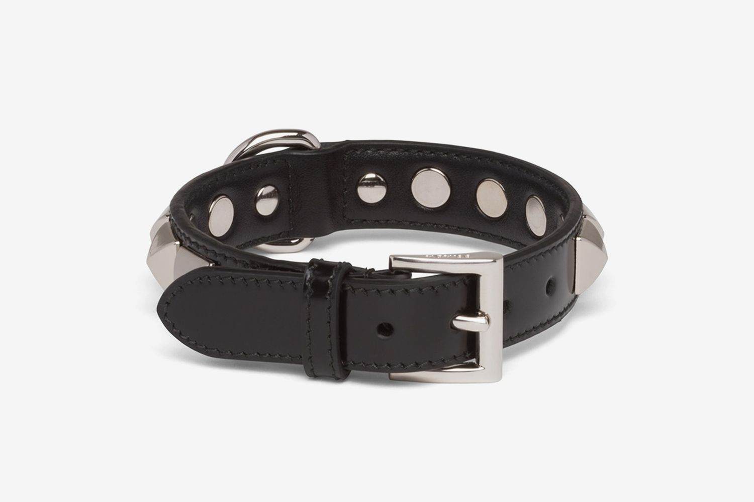 Brushed Leather Pet Collar