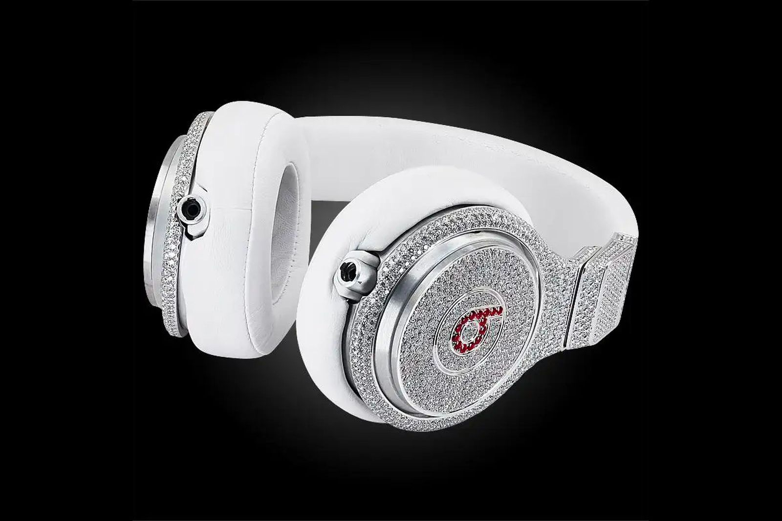 Diamond and Ruby Beats Pro Headphones