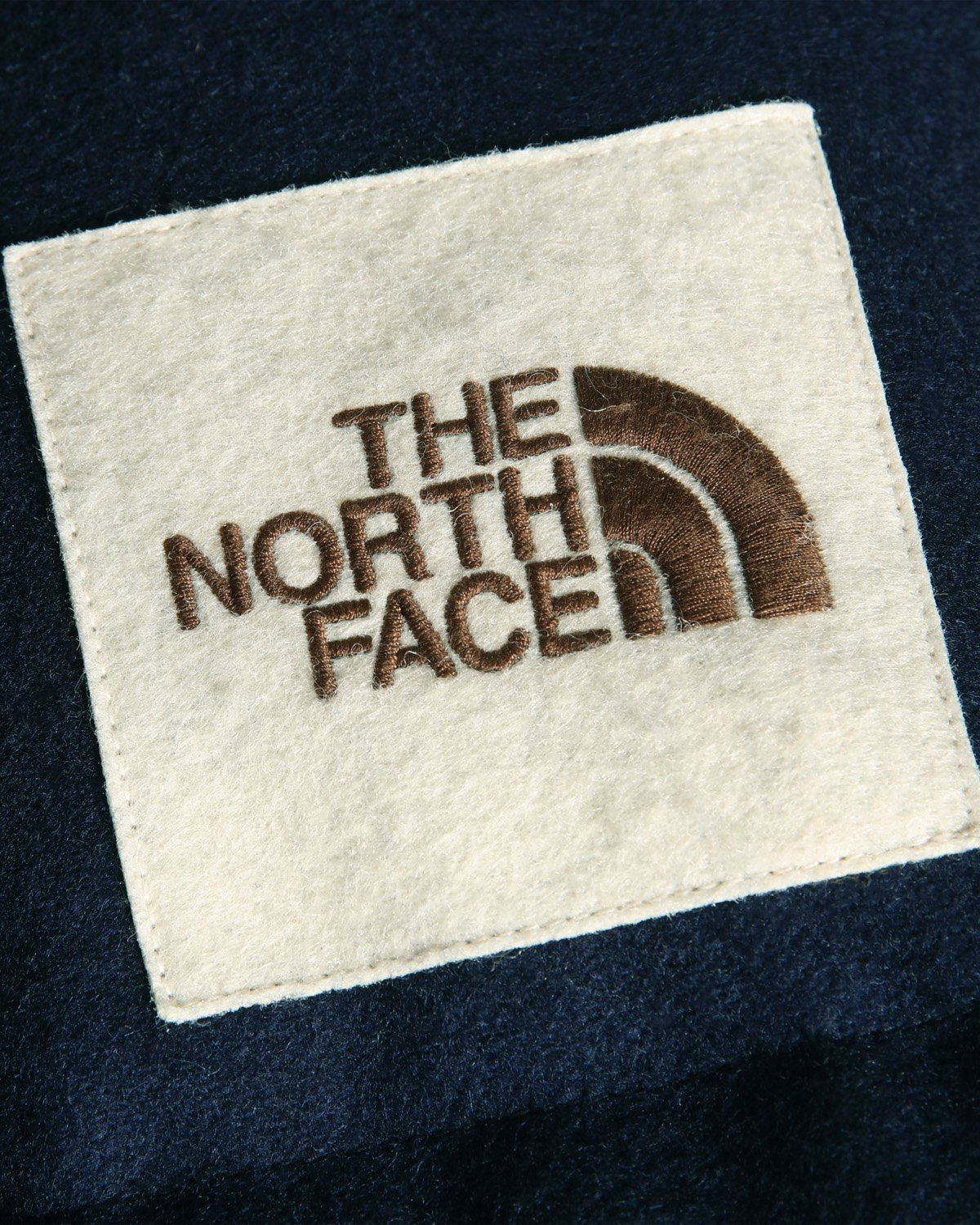 The North Face Brown Label — Larkspur Wool Down Jacket Navy Women - Image 5