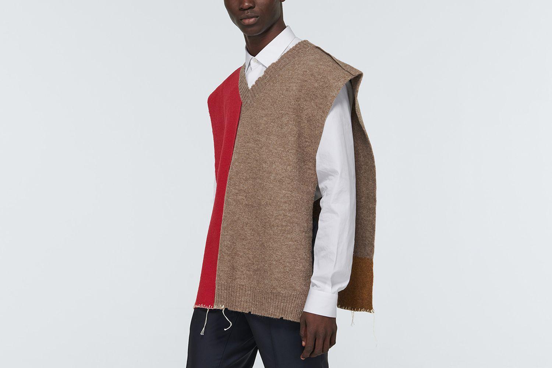 Oversized Open Vest