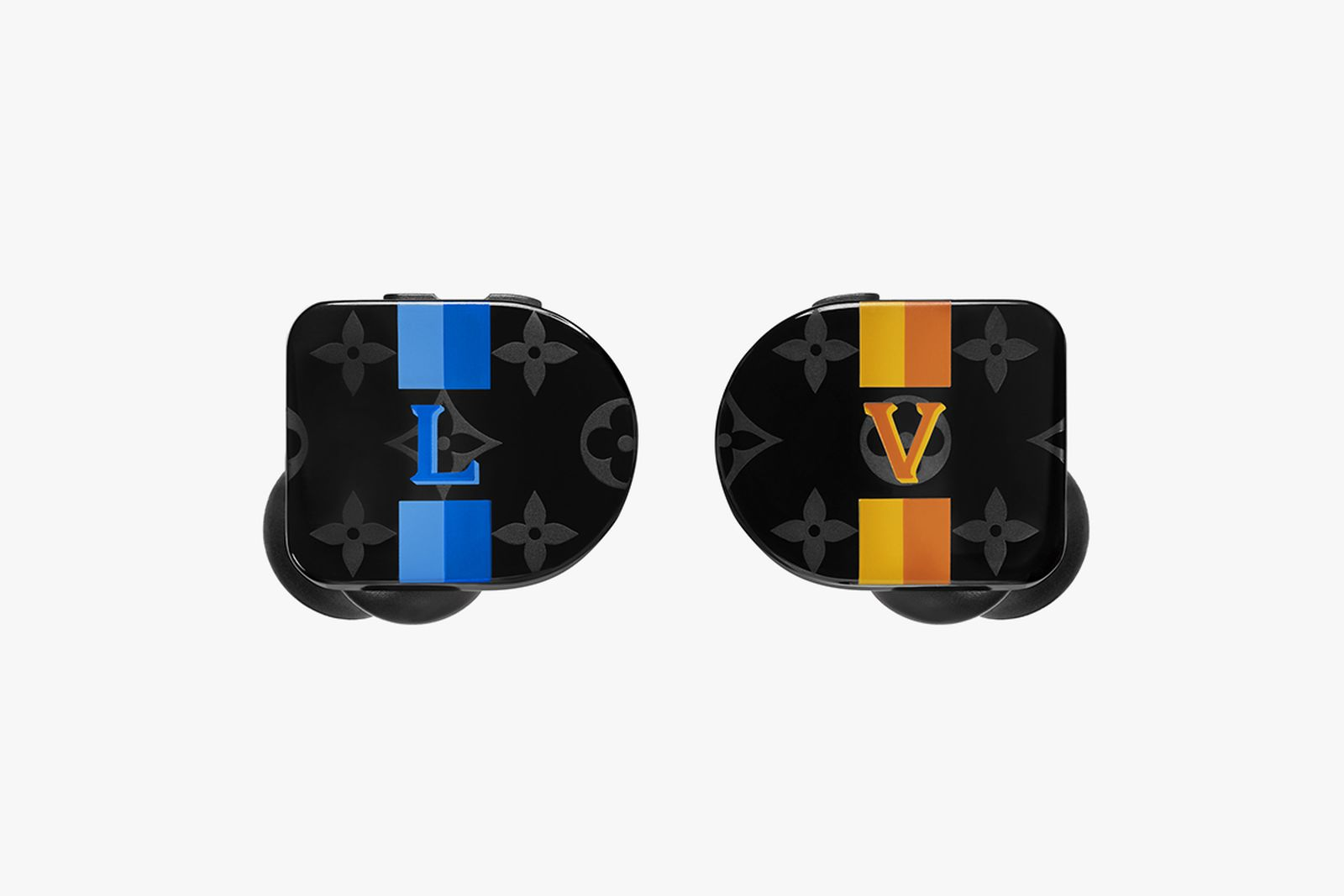 Horizon Earphones Stripes PM2 Front View Louis Vuitton Master & Dynamic