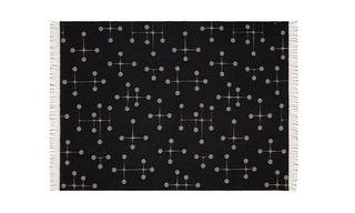 Vitra Create Jacquard Woven Merino Wool Blankets Featuring Eames & Girard Prints
