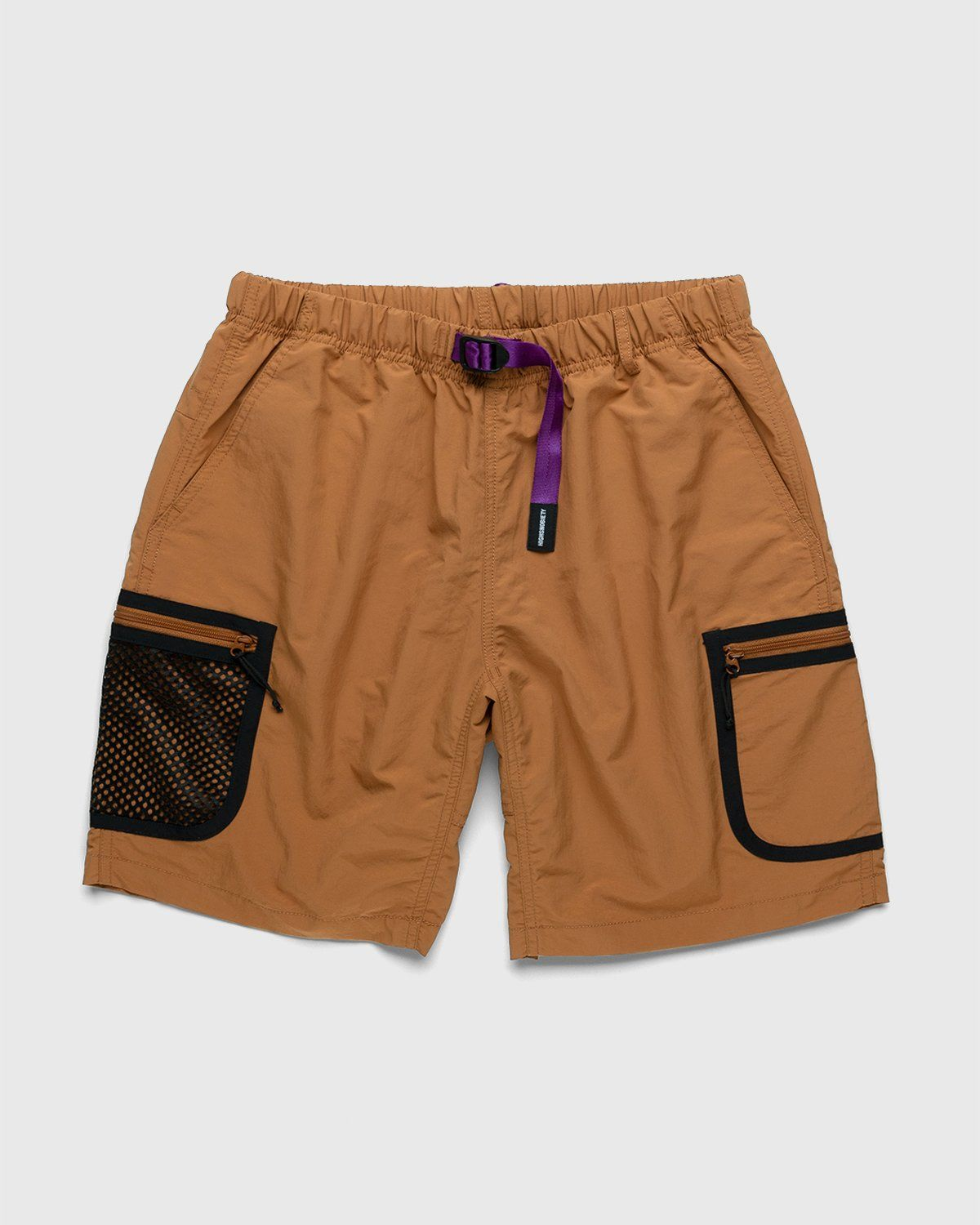 Gramicci for Highsnobiety – Shorts Rust - Image 1