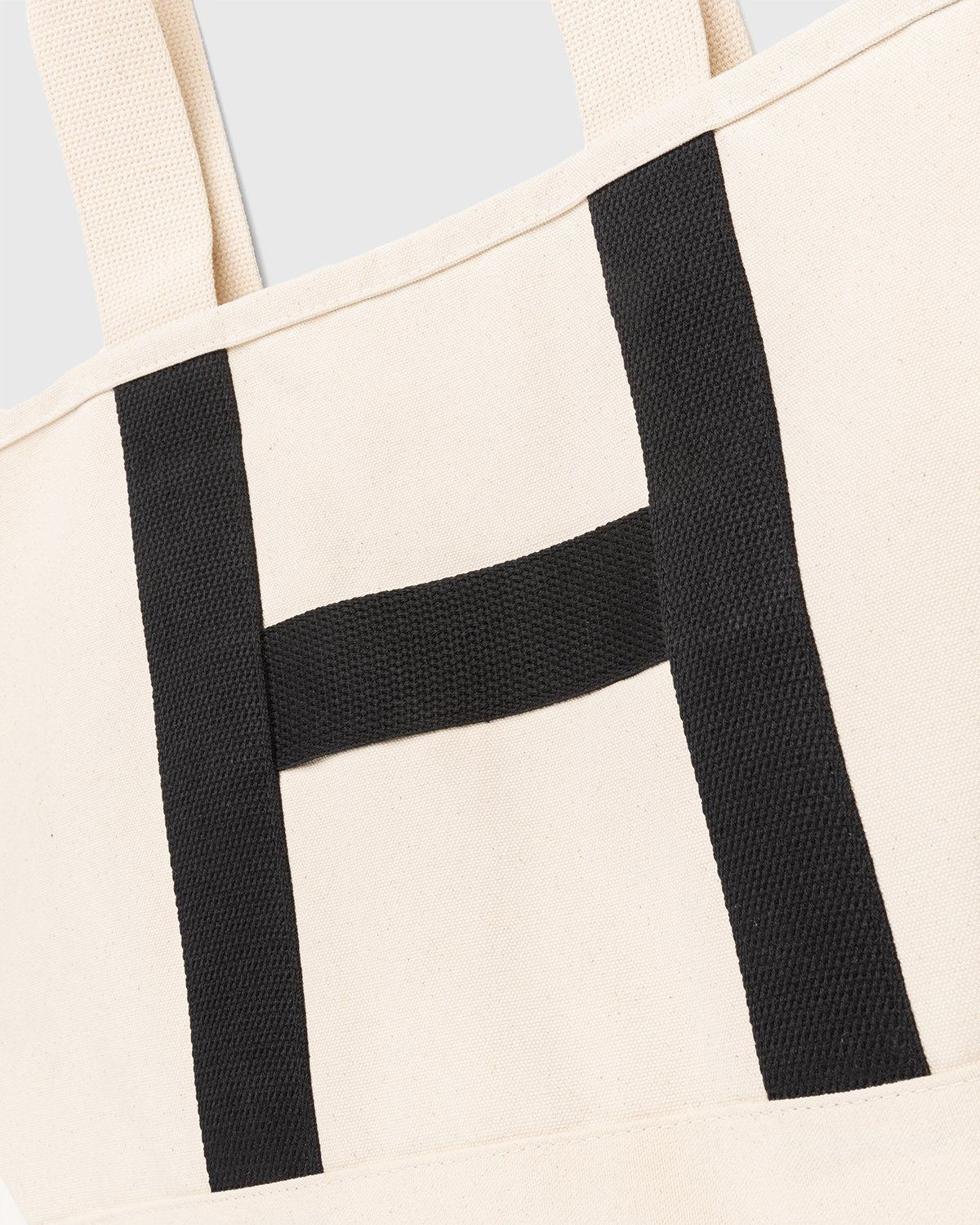 Highsnobiety – Heavy Canvas Large Shopper Tote Natural - Image 3