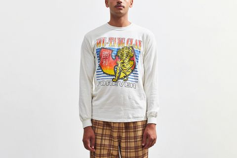 Wu-Tang Clan Tiger Long Sleeve Tee