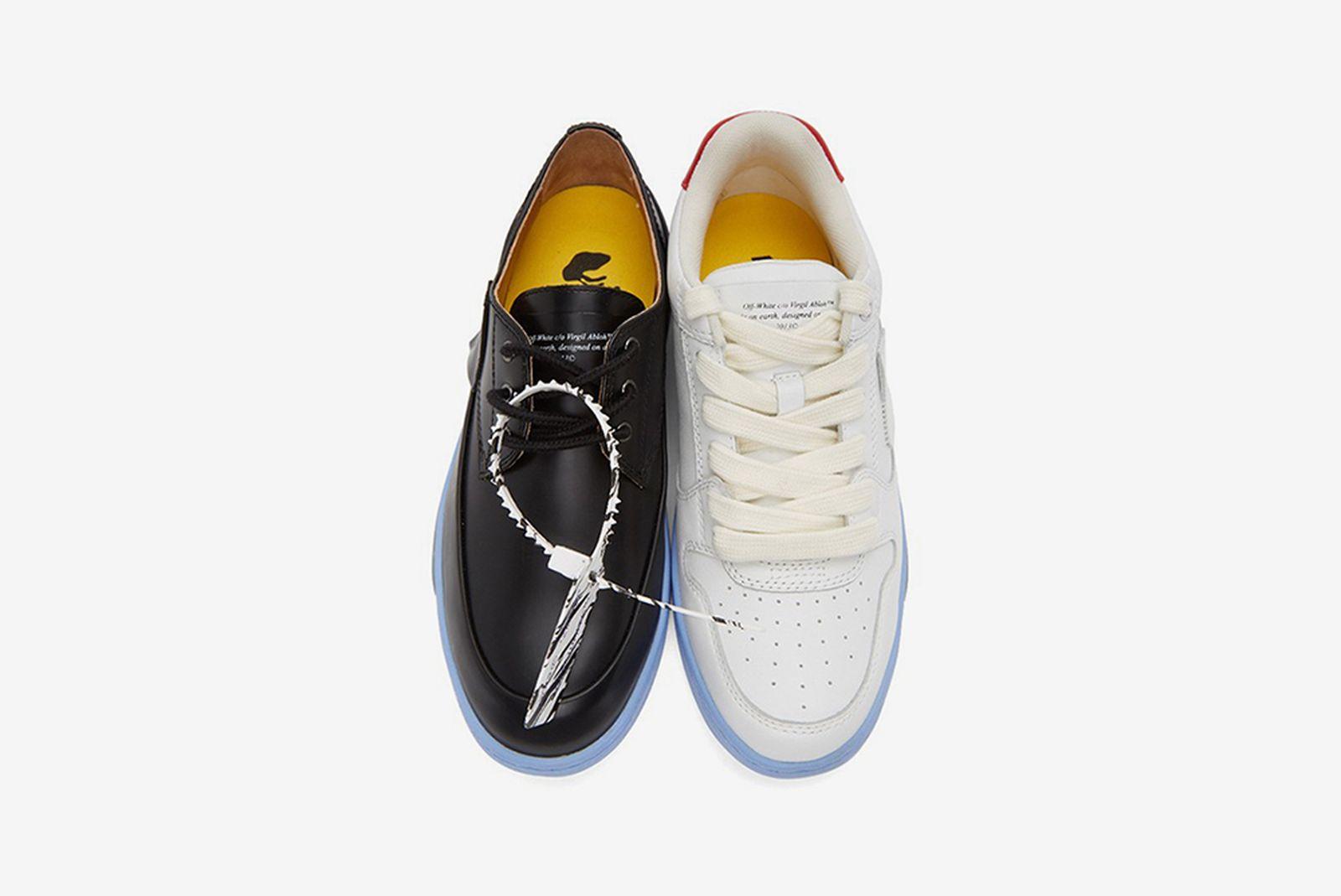 Off-White™ black and white half-half shoe