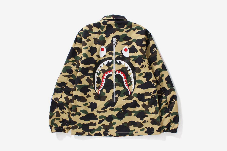 1st Camo Shark Coach Jacket