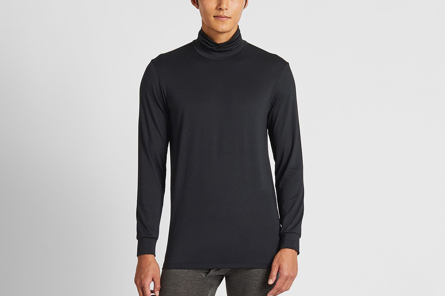Heattech Turtleneck Long-Sleeve T-shirt