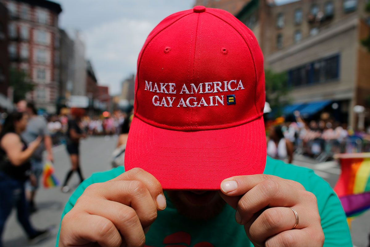 Make America Gay Again hat