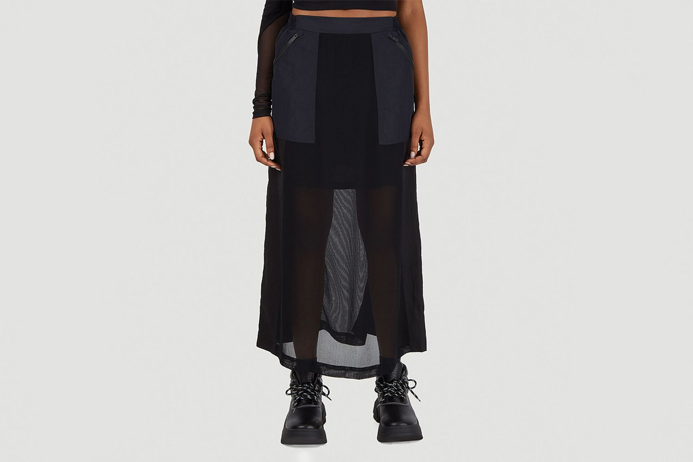 Breathe Parachute Midi Skirt