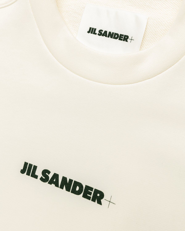 Jil Sander – Logo Sweater Natural - Image 3