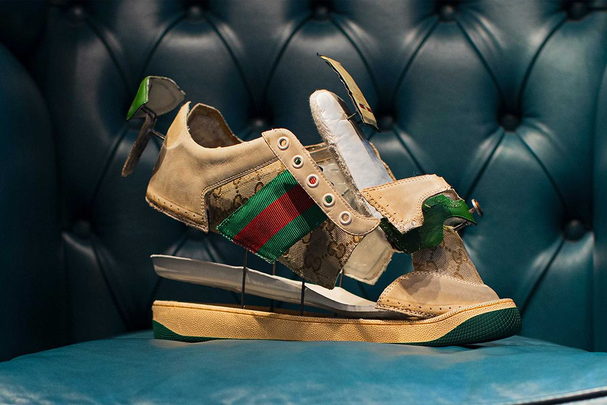 Alessandro Michele Designed Gucci's First Virtual Sneaker & Now You Can Too 29