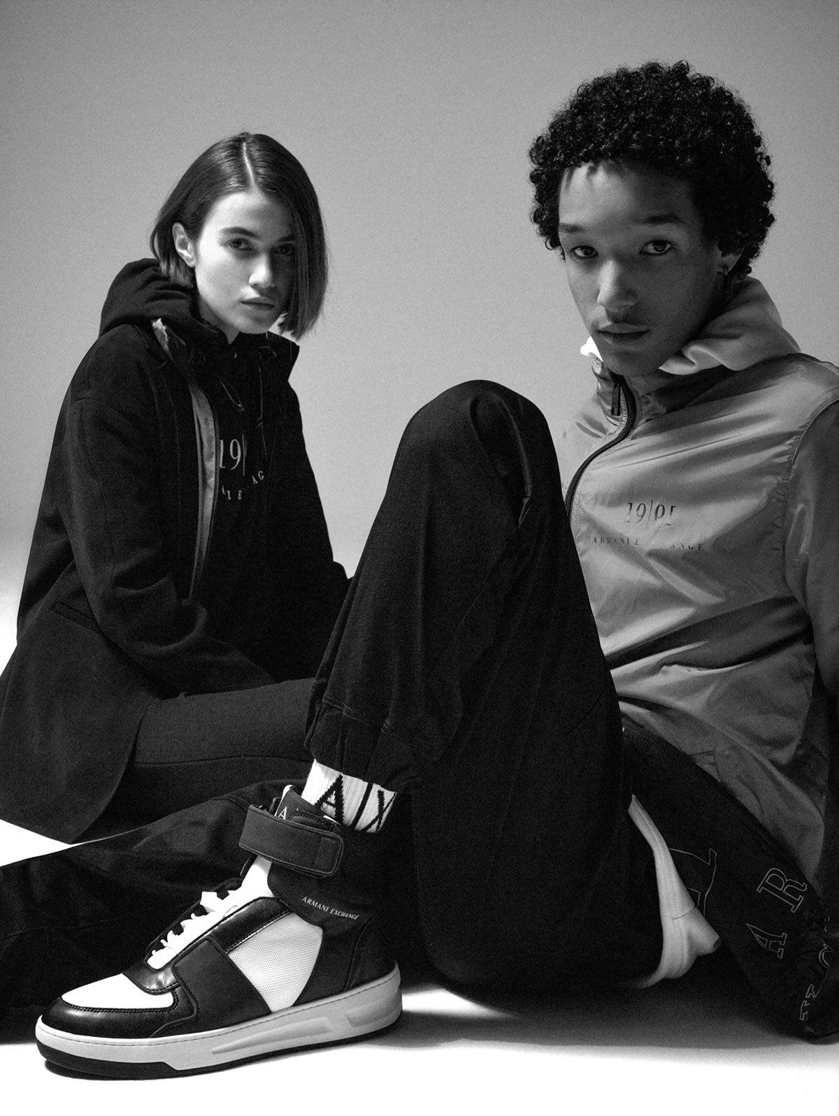 A|X Armani Exchange Looks Back on Three Decades of Era-Defining Fashion