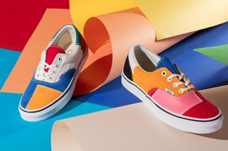 "e10abfae442b Banish the Winter Gloom With Vans  Super-Colorful ""Patchwork"" Pack"