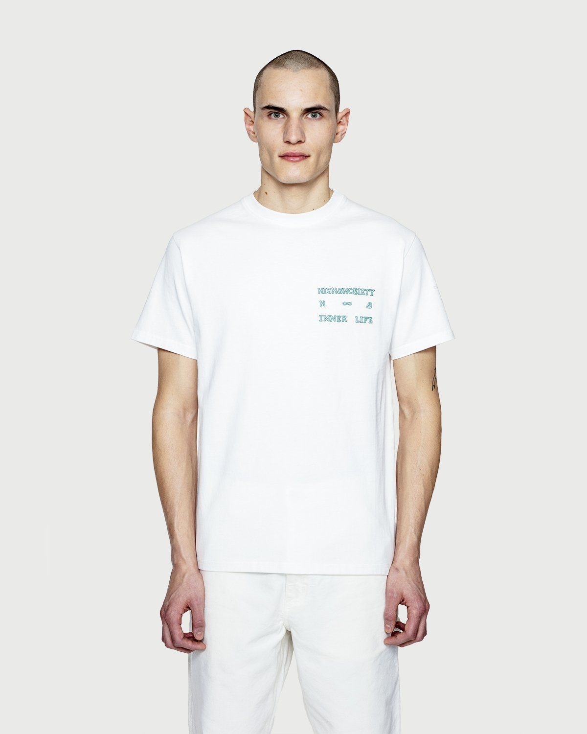 Inner Life by Highsnobiety - The End T-Shirt White - Image 2