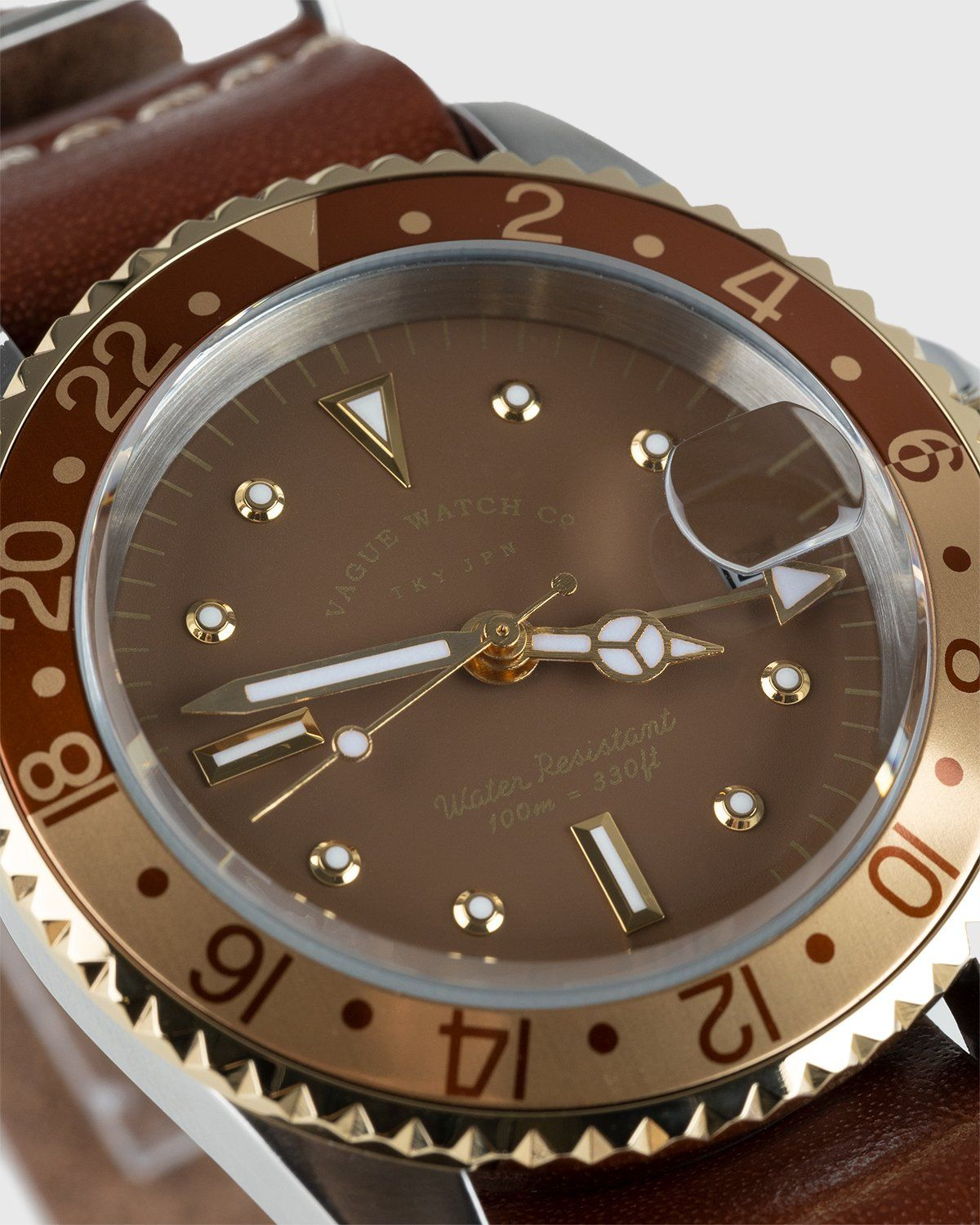 Vague Watch Co. – GMT Brown - Image 2