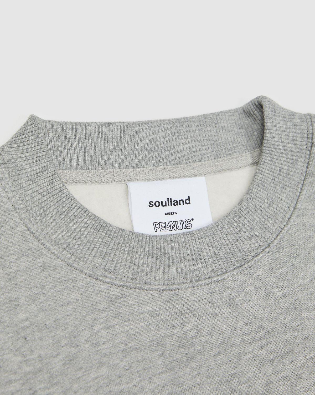 Colette Mon Amour x Soulland -  Snoopy Bed Grey Crewneck - Image 3