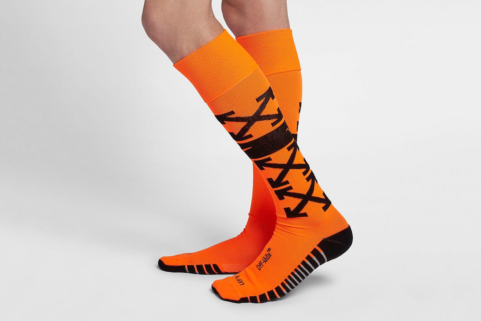 soccer socks orange2 2018 FIFA World Cup Nike OFF-WHITE c/o Virgil Abloh