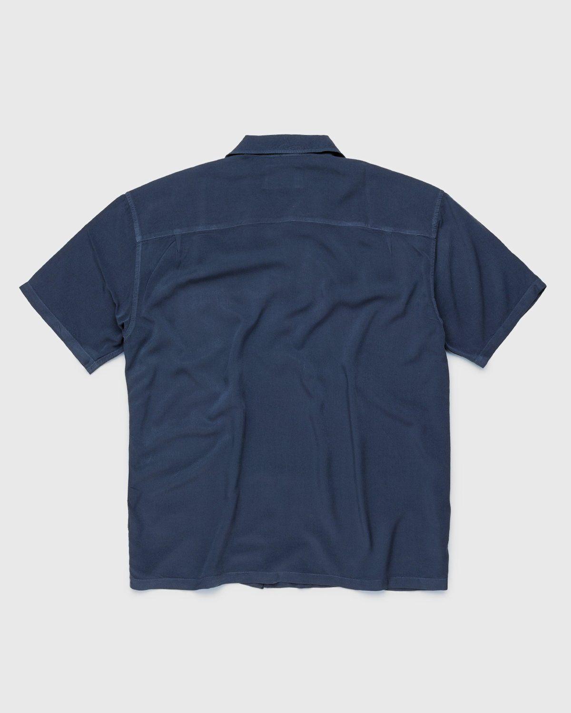 Highsnobiety – Bowling Shirt Navy - Image 2