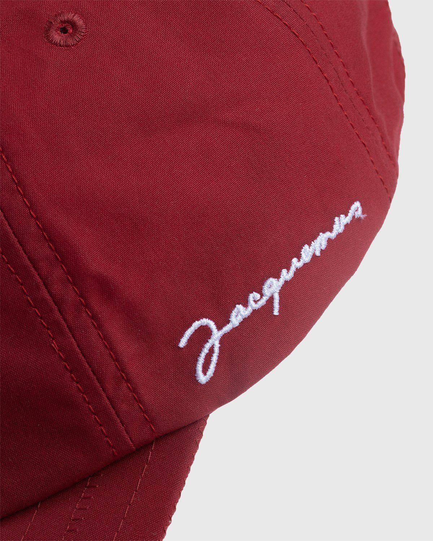 Jacquemus – La Casquette Jacquemus Red - Image 5