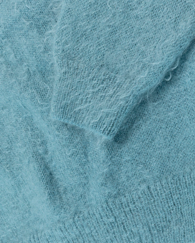 Auralee – Mohair Knit Blue - Image 5