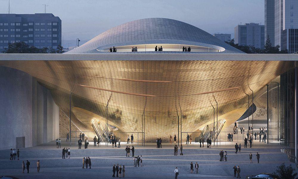 Zaha Hadid Architects To Design Sound Wave Inspired