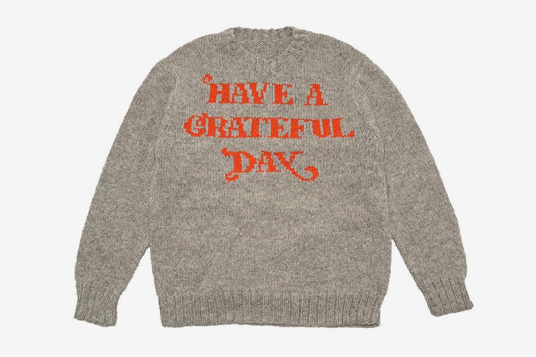 Grateful Day Crew Knit