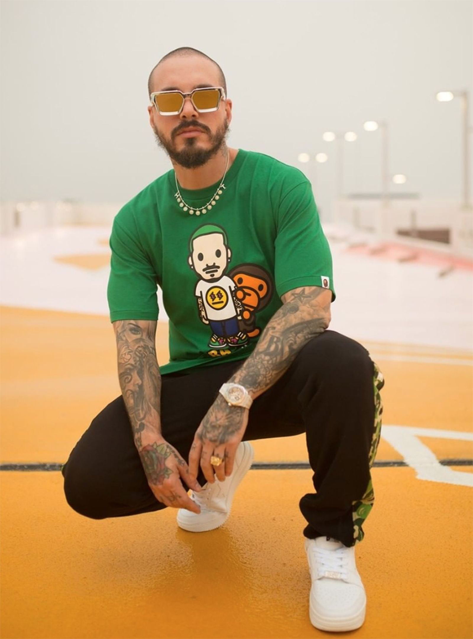BAPE J Balvin collection
