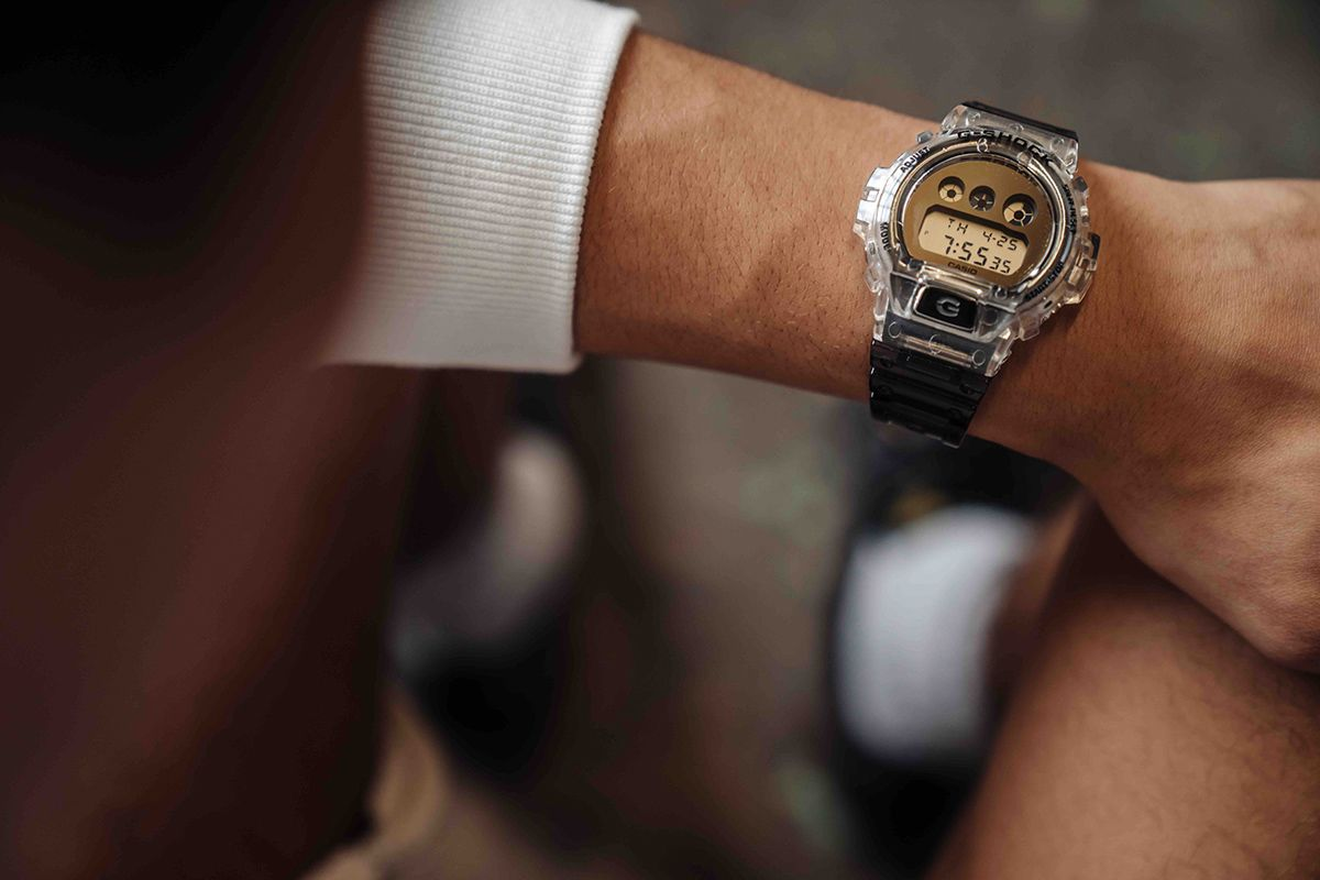 G-SHOCK Applies a Transparent Design to Its Most Popular Watches