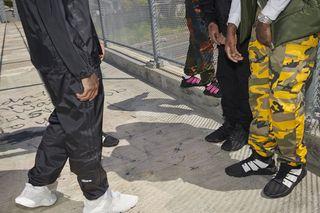 adidas Originals Camo pants Regular fit Gray | Buy here