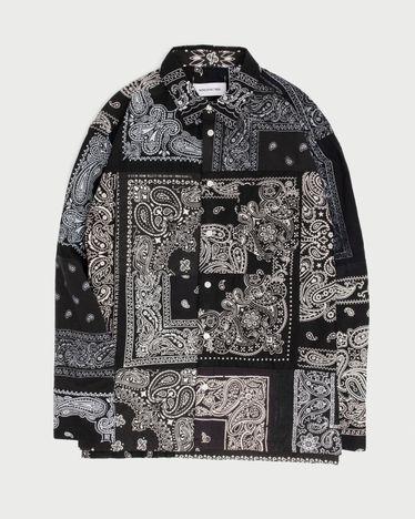 Miyagihidetaka Bandana Shirt Black