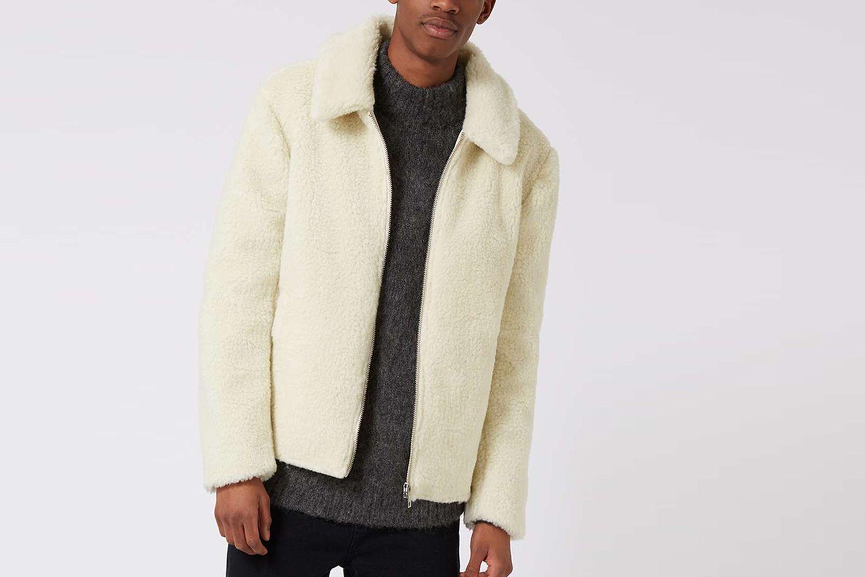 Shearling Harrington Jacket