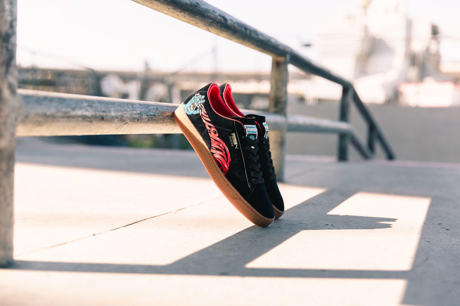 santa cruz skateboards puma suede 50 release date price info
