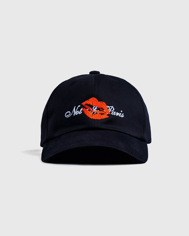 Highsnobiety — Not In Paris 3 Kiss Cap Black