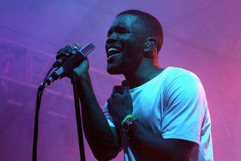 Frank Ocean performing
