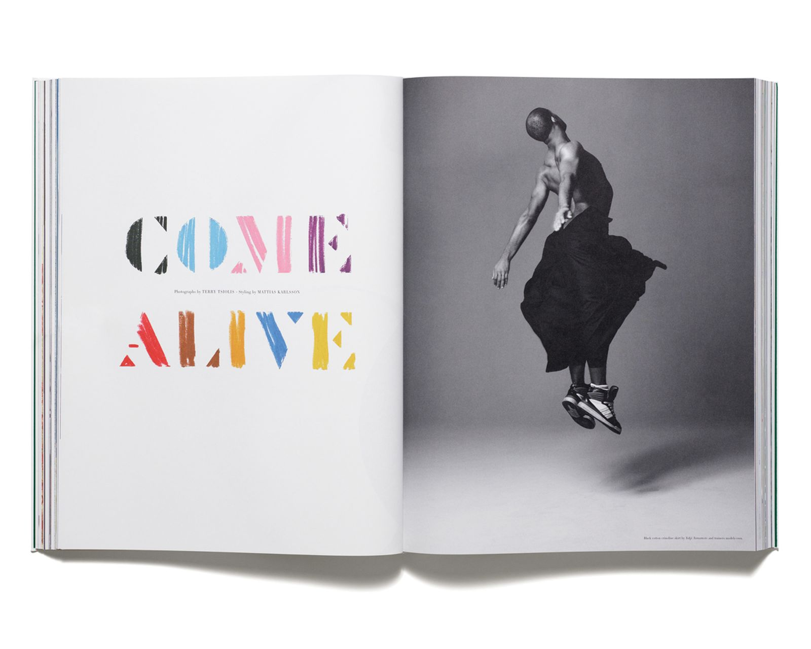 COME ALIVE - Le Nost Malik photographed by Terry Tsolis for 'Acne Paper' issue 6, 2008. Styling by Mattias Karlsson.