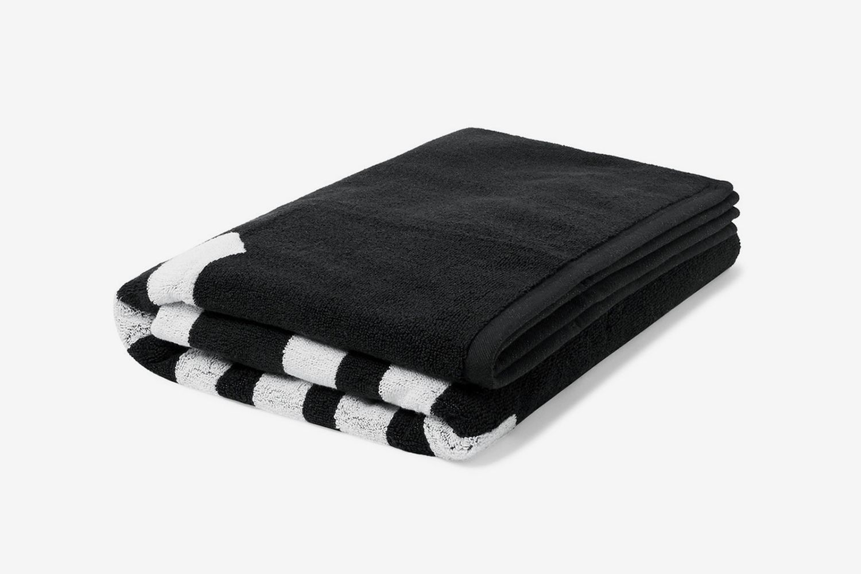 Logo-Jacquard Cotton-Blend Terry Beach Towel