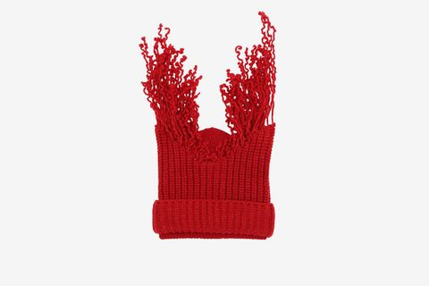Virgin Wool Knit Beanie