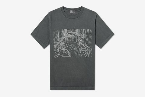 Overdyed Little Hall Tee